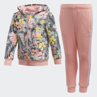 Hoodie Set Black / Multicolor / Glory Pink FM4938