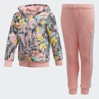 Tuta Hoodie Black / Multicolor / Glory Pink FM4938