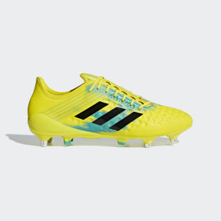 Predator Malice SG Boots Shock Yellow / Core Black / Hi-Res Aqua AC7729