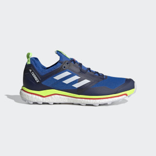 Zapatilla Terrex Agravic XT Trail Running Glory Blue / Cloud White / Signal Green EF2108