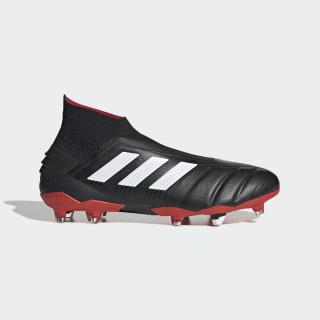 Calzado de Fútbol Predator 19+ Año 25 Terreno Firme Core Black / Cloud White / Red EE8417