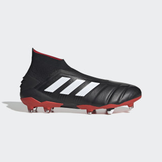 Predator 19+ 25 Year Firm Ground Cleats Core Black / Cloud White / Red EE8417