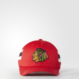 Blackhawks Structured Flex Draft Hat Red BZ8714