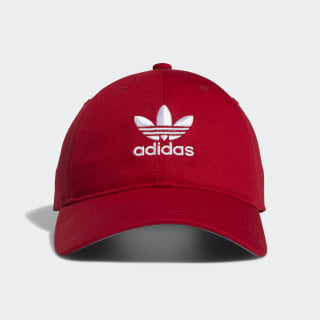 Relaxed Strap-Back Hat Scarlet CL5270