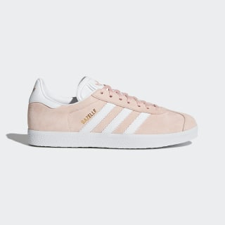 Gazelle Shoes Vapor Pink / White / Gold Metallic BB5472