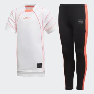 APPAREL OTHERS L EQT DRESS SET WHITE/TURBO BLACK/TURBO F11 D98878