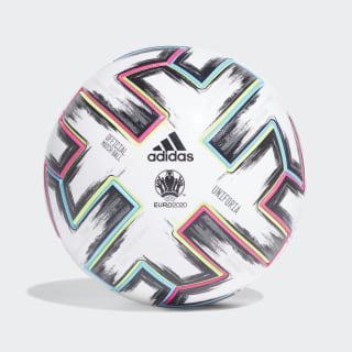 Pelota de fútbol Uniforia Pro White / Black / Signal Green / Bright Cyan FH7362