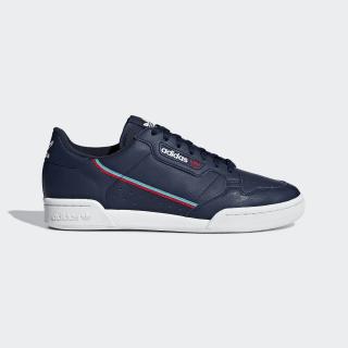 Continental 80 Shoes Collegiate Navy / Scarlet / Hi-Res Aqua B41670