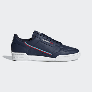 Continental 80 Shoes Collegiate Navy / Scarlet / Hi-Res Aqua B41670