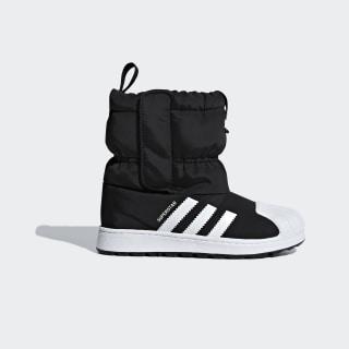Зимние ботинки Superstar Core Black / Cloud White / Cloud White B22507