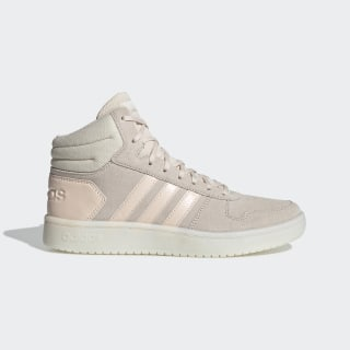Hoops 2.0 Mid Shoes Linen / Linen / Cloud White EE7894