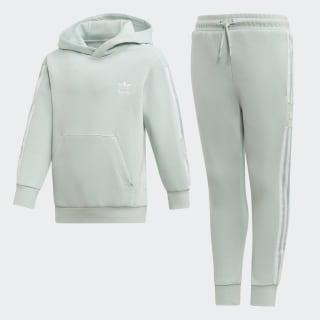 Комплект: худи и брюки New Icon vapour green / white ED7742