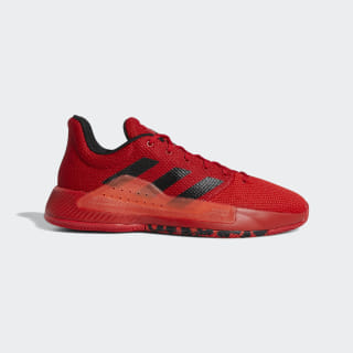 Zapatilla Pro Bounce Madness Low 2019 Scarlet / Core Black / Active Red BB9283