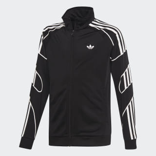 Flamestrike Track Jacket Black / White DW3860