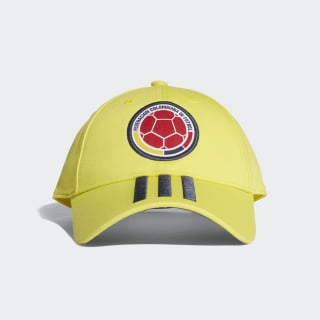 Colombia 3-Stripes Hat Bright Yellow / Collegiate Navy CF5208