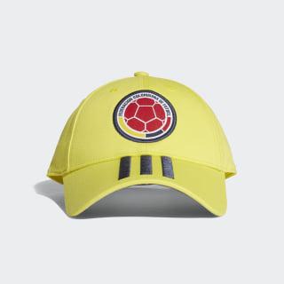 Gorra 3 Rayas Selección Colombia 2018 BRIGHT YELLOW/COLLEGIATE NAVY CF5208
