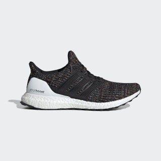 Ultraboost Shoes Core Black / Core Black / Active Red F35232