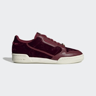 Continental 80 Shoes Collegiate Burgundy / Collegiate Burgundy / Cloud White EH0173