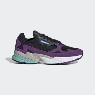 Falcon Shoes Core Black / Cloud White / Active Purple CG6216