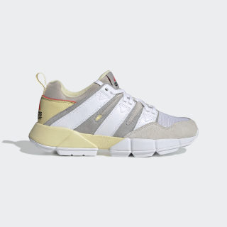 EQT Cushion 2.0 Schoenen Easy Yellow / Cloud White / Grey Two DB2718