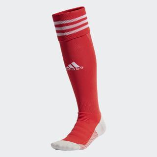 Футбольные гетры AdiSocks Collegiate Red / White FM1816