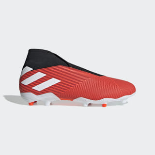Bota de fútbol Nemeziz 19.3 césped natural seco Active Red / Ftwr White / Solar Red F99997