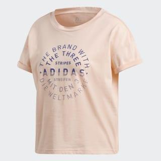 Camiseta Emblem Haze Coral DJ1604