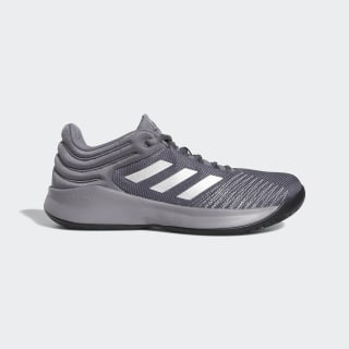 Zapatillas Pro Spark 2018 Low grey four f17 / silver met. / core black F99901