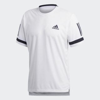 Playera 3-Stripes Club White CE2032
