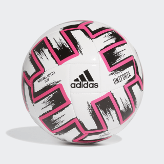 Uniforia Club Voetbal White / Black / Shock Pink FR8067