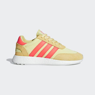 I-5923 Schuh Clear Yellow / Solar Red / Grey One D96604