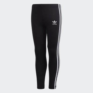 3-Streifen Leggings Black / White DV2845