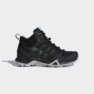 Terrex Swift R2 Mid GORE-TEX Hiking Shoes Core Black / Core Black / Ash Green CM7651