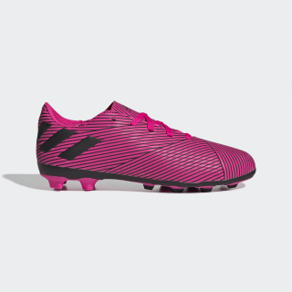 Calzado de Fútbol Nemeziz 19.4 Multiterreno Shock Pink / Core Black / Shock Pink F99949