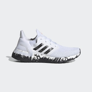 Zapatilla Ultraboost 20 Cloud White / Core Black / Signal Coral EG1370