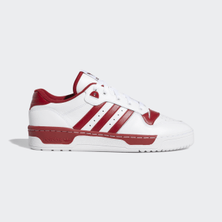 Tênis Rivalry Low Cloud White / Cloud White / Active Maroon EE4967