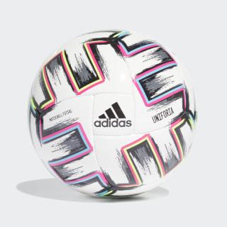 Футбольный мяч Uniforia Pro Sala White / Black / Signal Green / Bright Cyan FH7350