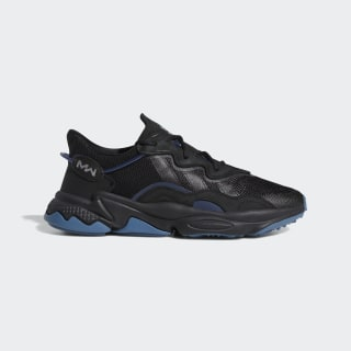 Ozweego Pusha Cod Schoenen Core Black / Dark Slate / Blanch Blue FW3028