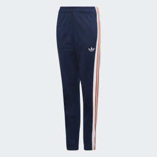 Pantaloni 3-Stripes Collegiate Navy / White / Raw Amber DY9363
