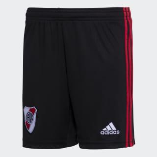 Shorts de la Tercera Equipación de River Plate Black DP2826