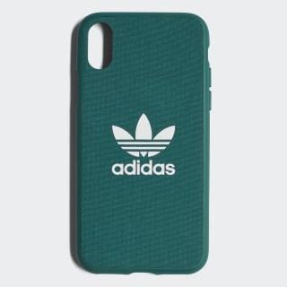 Adicolor Snap Case iPhone X Collegiate Green / White CJ6194