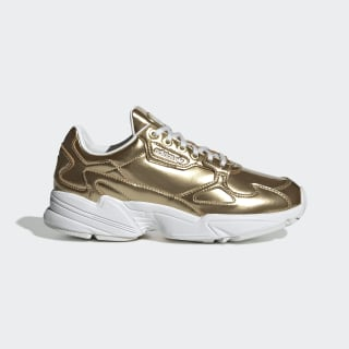 Falcon Shoes Gold Metallic / Gold Metallic / Crystal White FV4318