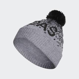 Bonnet dégradé Pompom Medium Grey Heather / Black DZ5788
