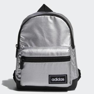 Classic Metallic Backpack Extra Small Metallic Silver / Black / White FM4334