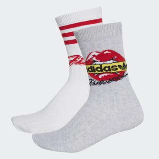Medias Tobilleras 2pk Socks White EH6518