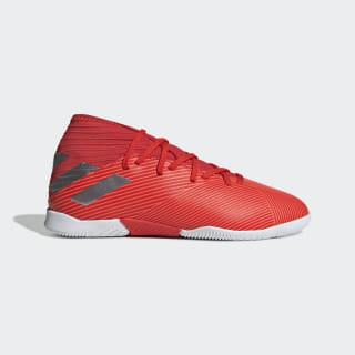 Nemeziz 19.3 Indoor Shoes Active Red / Silver Metallic / Solar Red F99945