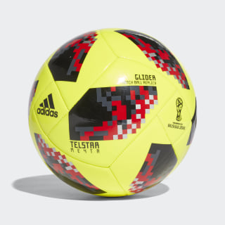 FIFA World Cup Knockout Glider Ball Solar Yellow / Black CW4689