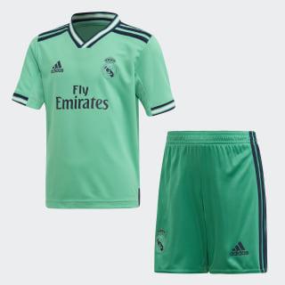 Mini Kit Third Real Madrid Hi-Res Green DX8916