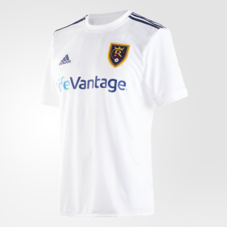 Real Salt Lake Away Jersey White / Night Sky AY7493