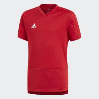 Camiseta entrenamiento Condivo 18 Power Red/White CG0375